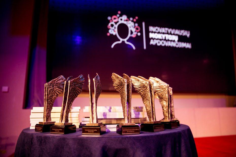 Nuotrauka iš Inovatyviausių mokytojų apdovanojimų