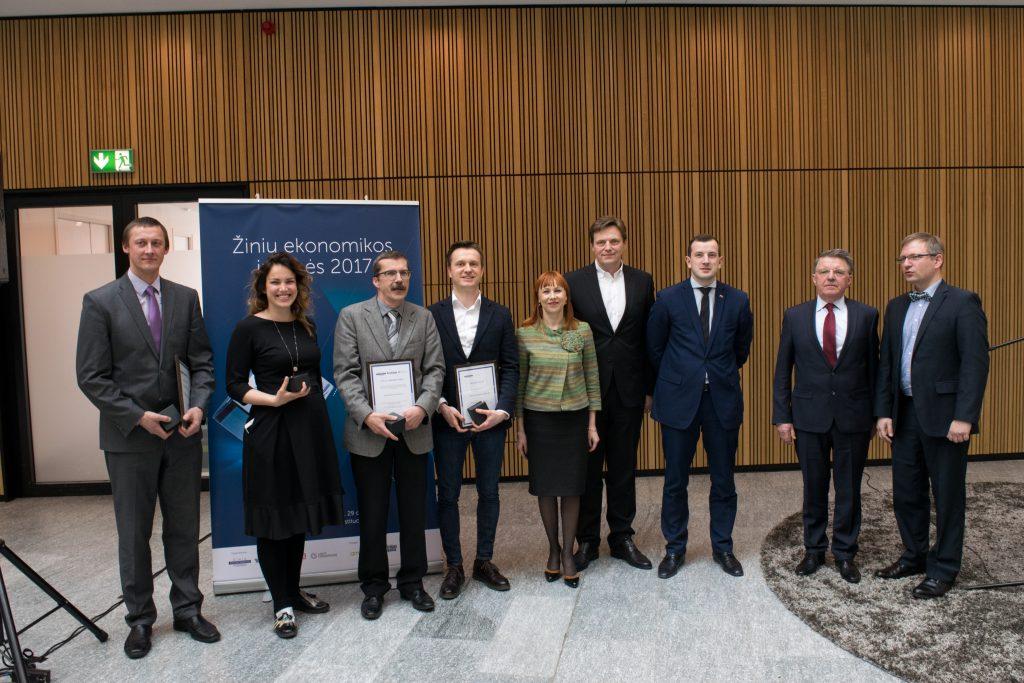 Žinių ekonomikos įmonės 2017 nugalėtojai